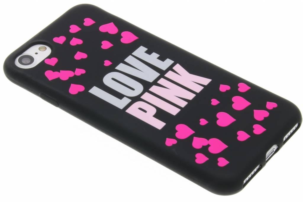 I love pink glow in the dark TPU case voor de iPhone 7