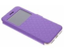 Paars Rhombus hoesje iPhone 7