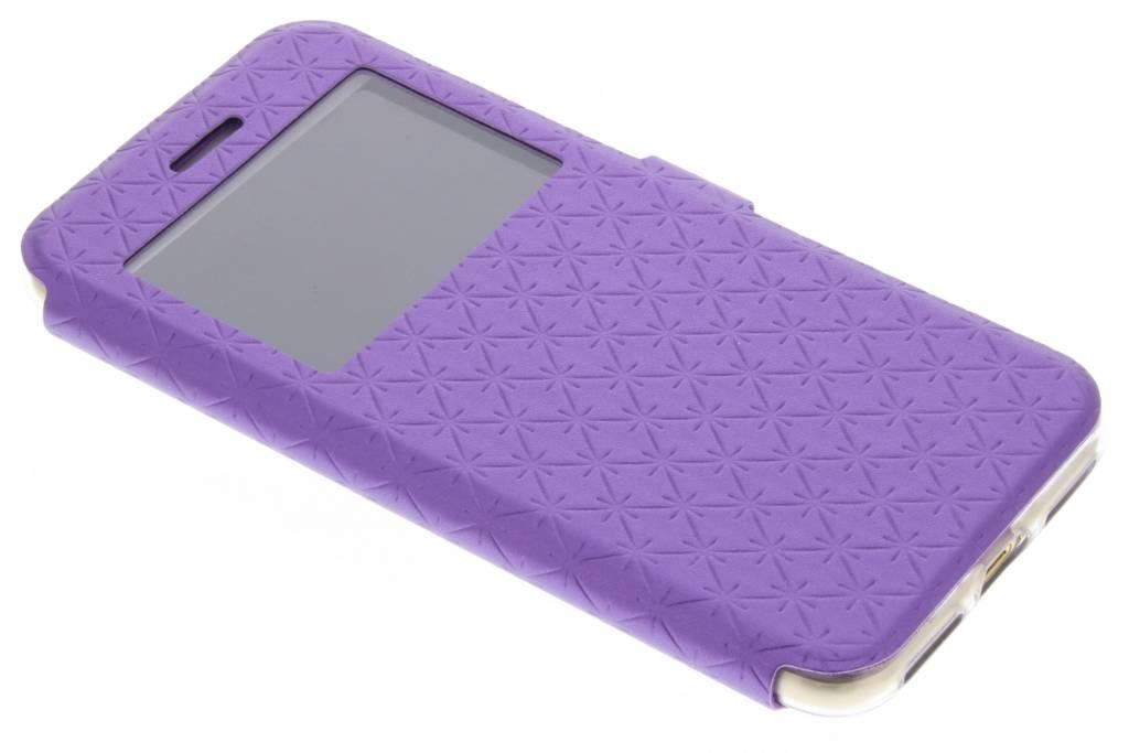 Paars Rhombus hoesje voor de iPhone 7
