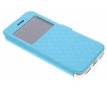 Turquoise Rhombus hoesje iPhone 7