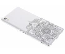 Mandala design TPU hoesje Sony Xperia XA Ultra