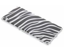 Dierenprint design Zebra TPU hoesje Sony Xperia XA Ultra