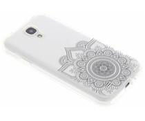 Mandala design TPU hoesje Samsung Galaxy S4