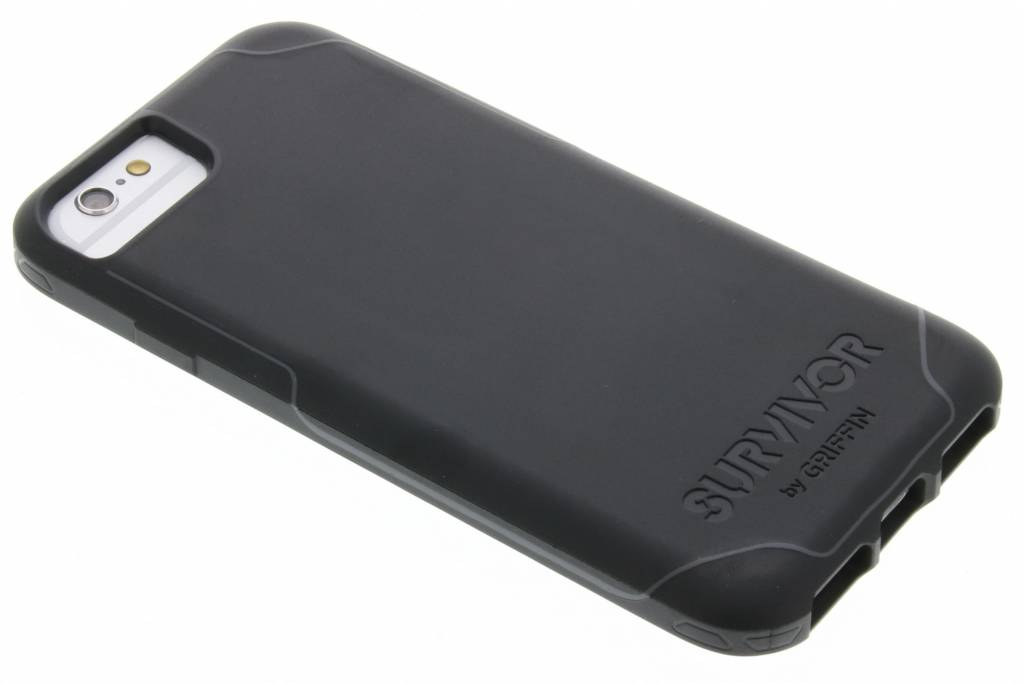 Griffin Survivor Journey Case voor de iPhone 7 / 6s / 6 - Zwart / Grijs