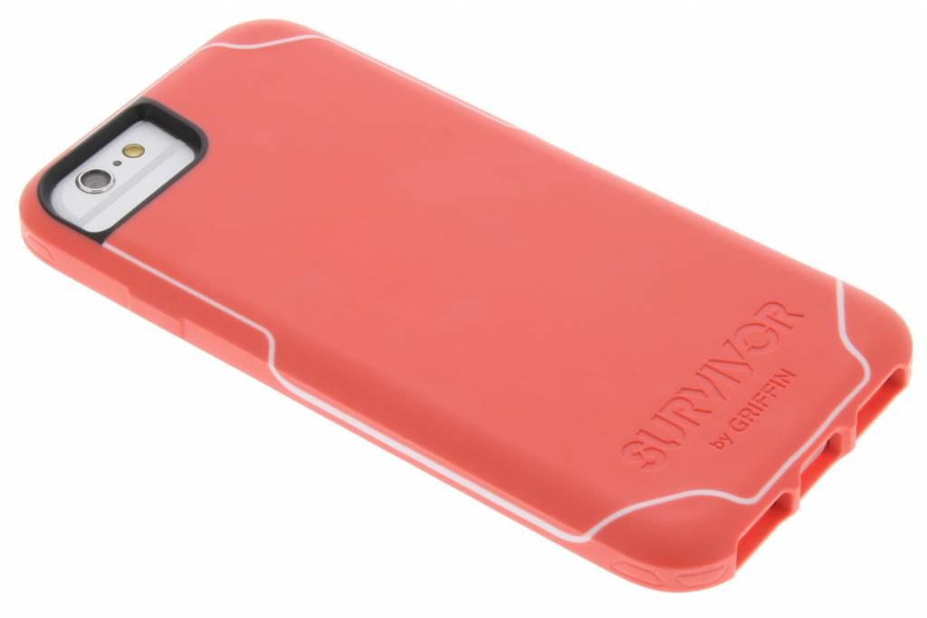 Griffin Survivor Journey Case voor de iPhone 7 / 6s / 6 - Roze / Wit