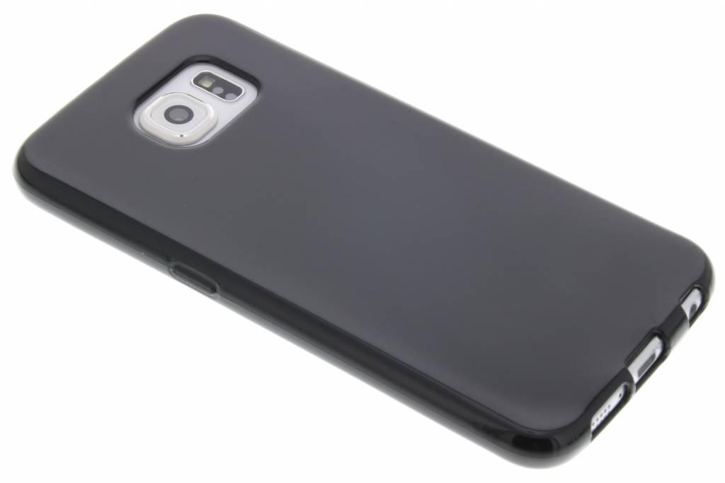 Zwarte gel case voor de Samsung Galaxy S6