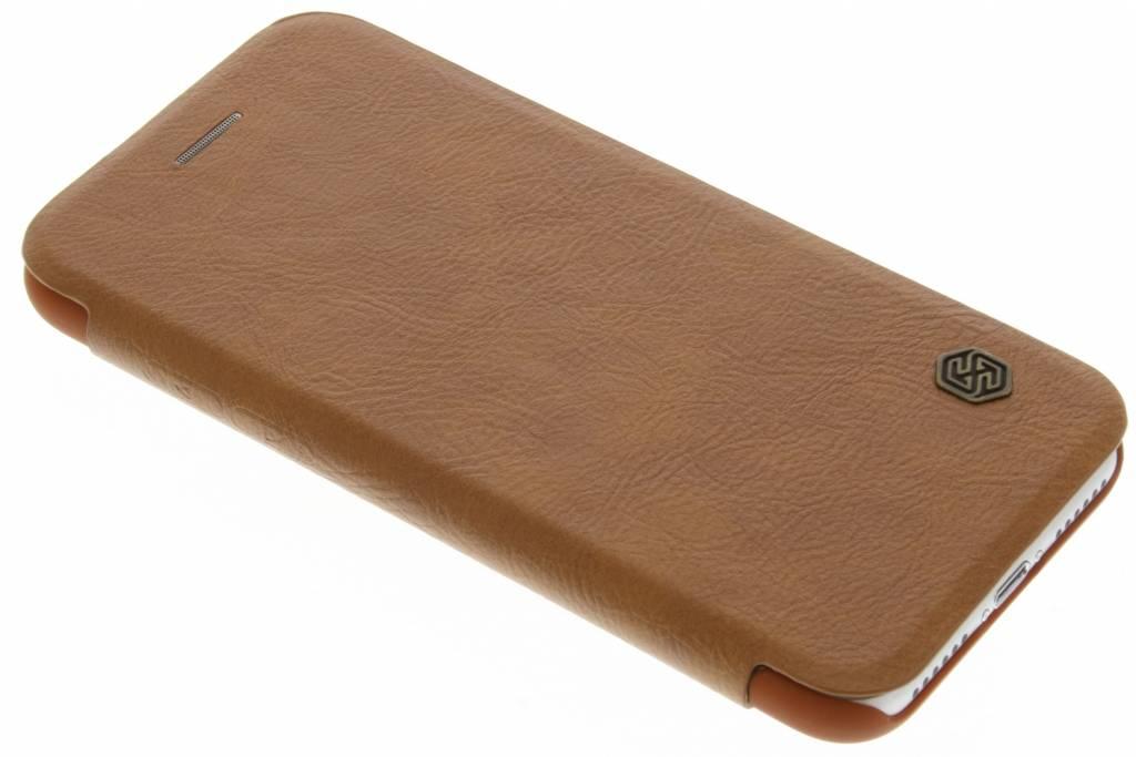 Nillkin Qin Leather slim booktype hoes voor de iPhone 7 - Bruin