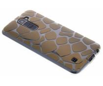 Dierenprint design Giraffe TPU hoesje LG K10