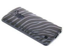 Dierenprint design Zebra TPU hoesje LG K10