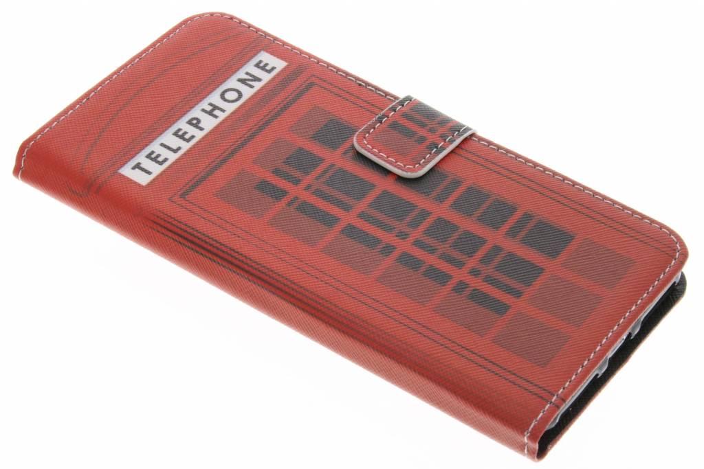 Telephone design TPU booktype hoes voor de iPhone 7 Plus