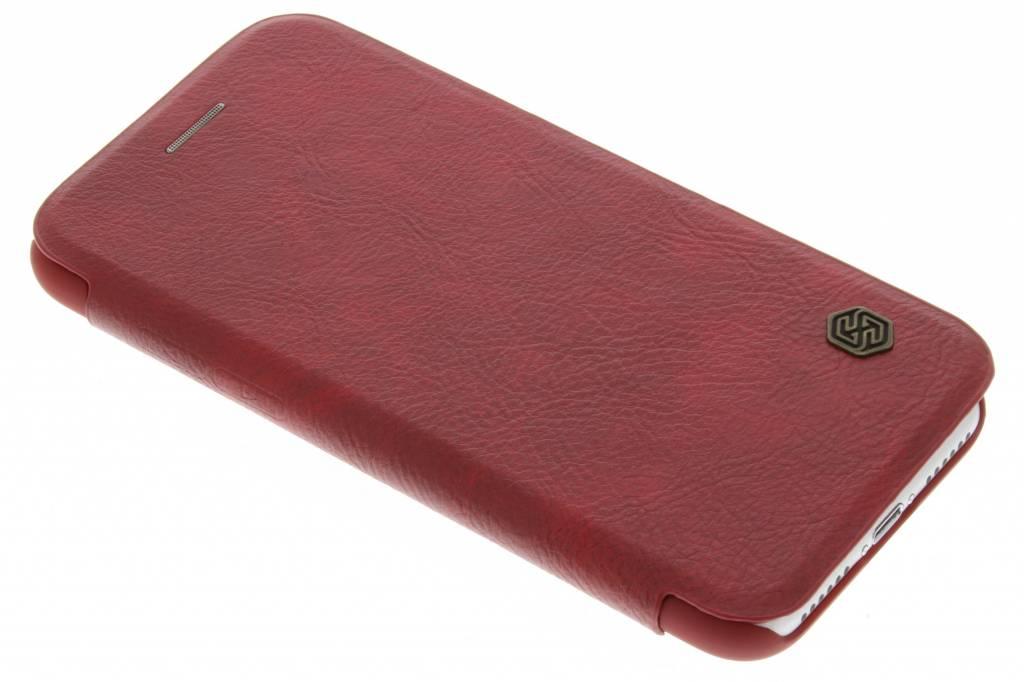 Nillkin Qin Leather slim booktype hoes voor de iPhone 8 / 7 - Rood