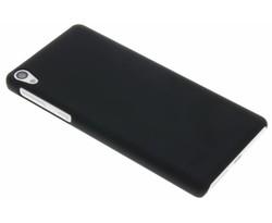Zwart effen hardcase hoesje Sony Xperia E5