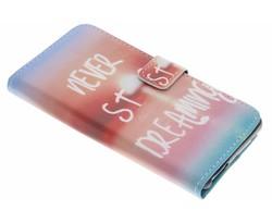 Design TPU booktype hoes Wiko U Feel