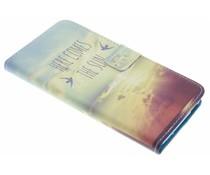 Design TPU booktype hoes HTC Desire 830