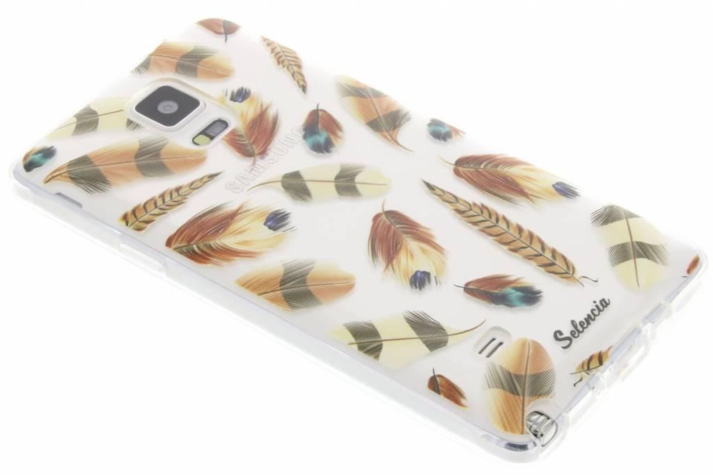 Feathers Brown TPU hoesje voor de Samsung Galaxy Note 4