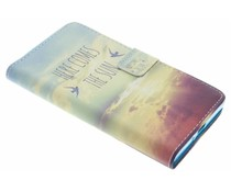 Design TPU booktype hoes Sony Xperia XZ / XZs