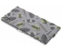 Selencia Feathers TPU hoesje Sony Xperia X