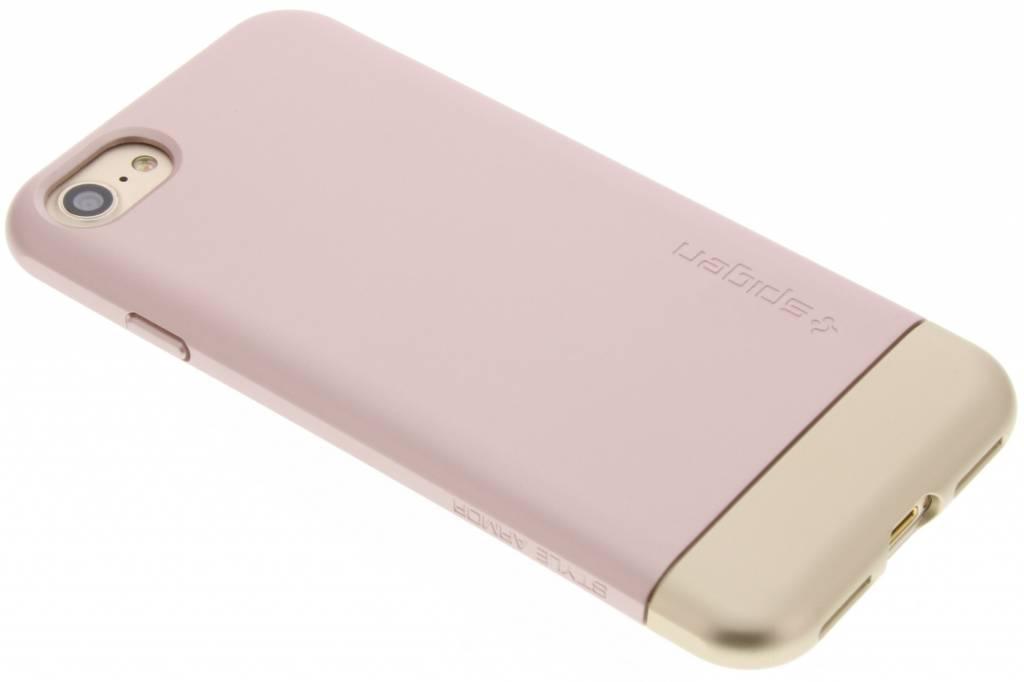 Spigen Style Armor Case voor de iPhone 7 - Rosé goud
