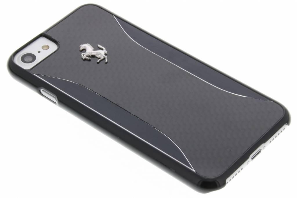 Ferrari Carbon Fiber Hard Case voor de iPhone 7 - Zwart