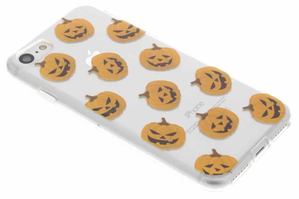 Halloween design pompoentjes TPU hoesje voor de iPhone 7