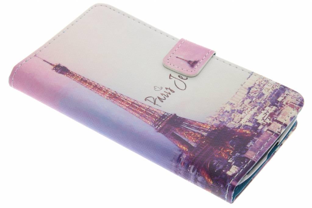 Parijs design TPU booktype hoes voor de Acer Liquid Zest (4G)