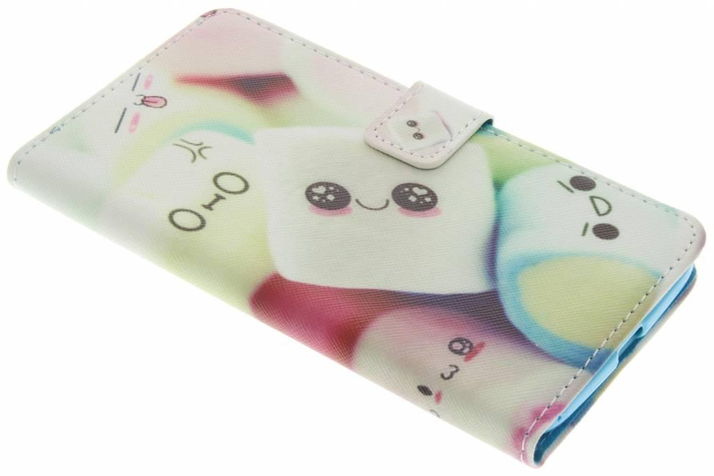 Marshmallow design TPU booktype hoes voor de Motorola Moto Z
