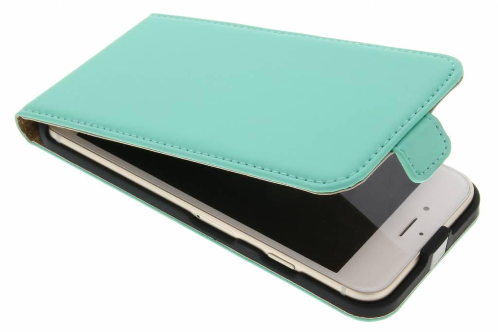 Selencia Luxe Flipcase voor de iPhone 7 - Mintgroen