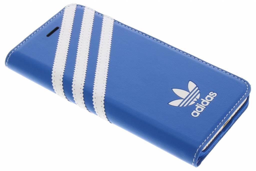 Adidas Originals Booklet case Apple iPhone 7 Blauw-Wit