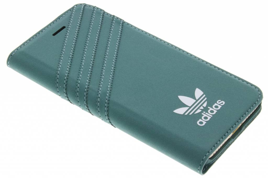 Adidas Originals Booklet case Apple iPhone 7 Groen-Wit