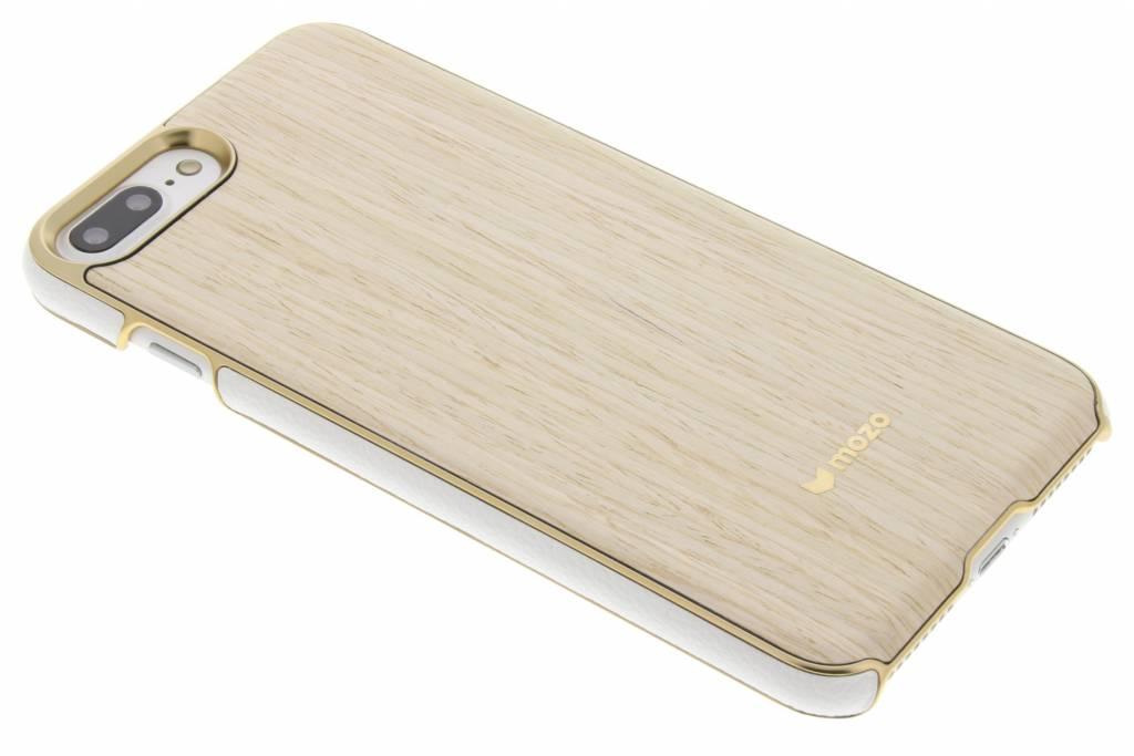Mozo Wood Back Cover voor de iPhone 7 Plus - Light Oak