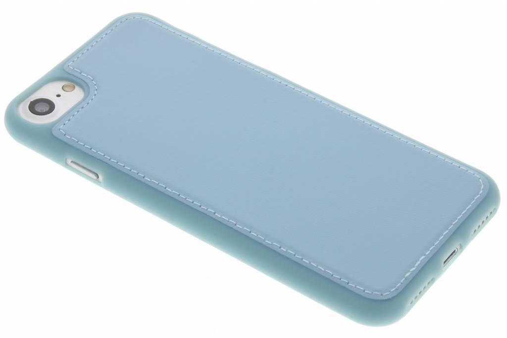 Blauwe lederen TPU case voor de iPhone 7