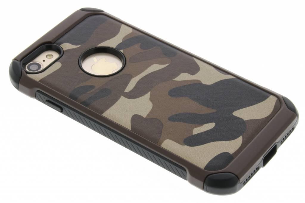 Army defender hardcase hoesje voor de iPhone 7 - Bruin