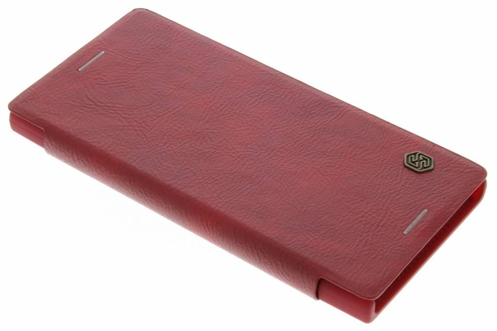 Qin Smart Type De Livre En Cuir Pour Sony Xperia Xz / Xzs - Noir Fa0yu