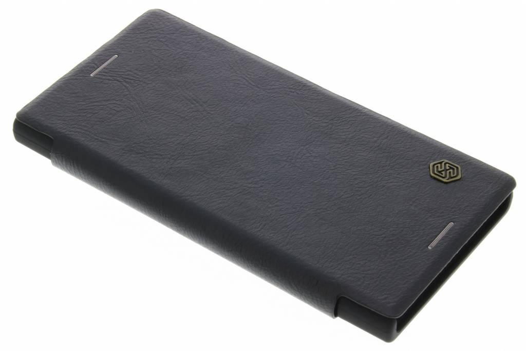 Qin Smart Type De Livre En Cuir Pour Sony Xperia Xz / Xzs - Noir I4H7FN