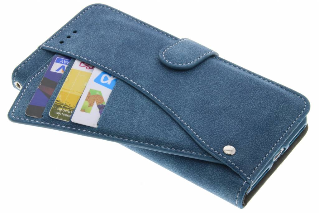 Blauwe Comfort Booklet voor de iPhone 8 / 7