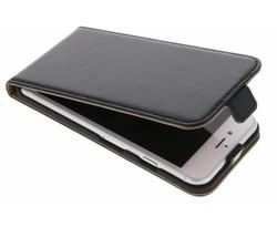 Selencia Luxe lederen Flipcase iPhone 8 / 7 - Zwart