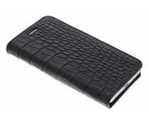 Valenta Booklet Classic Style iPhone 7 - Croco Zwart