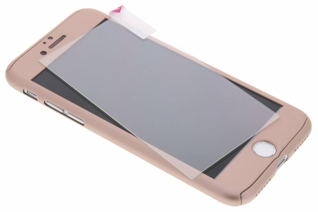 Krusell Arvika 360° Cover voor de iPhone 8 Plus / 7 Plus - Rosé goud