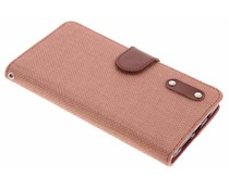 Linnen look TPU booktype hoes OnePlus 3 / 3T