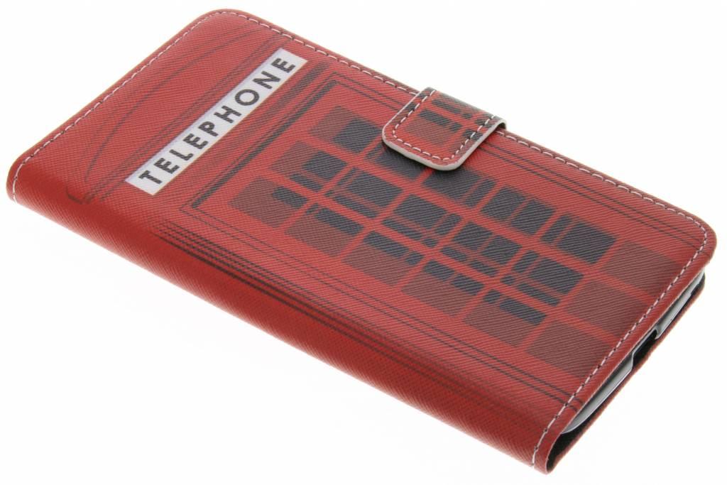 Telephone design TPU booktype hoes voor de Motorola Moto Z