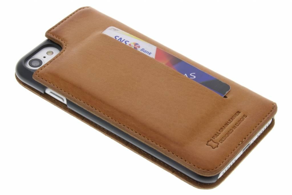 Bugatti Parigi Booklet Case voor de iPhone 8 / 7 - Cognac