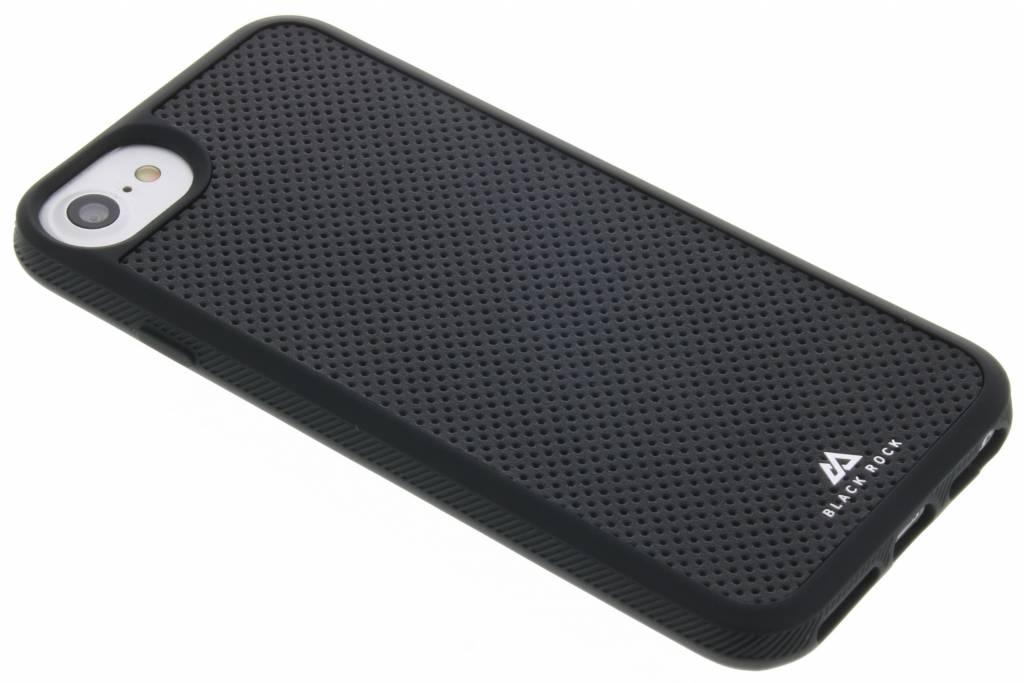 Black Rock Leather Mash Material Case voor de iPhone 8 / 7 / 6s / 6 - Zwart