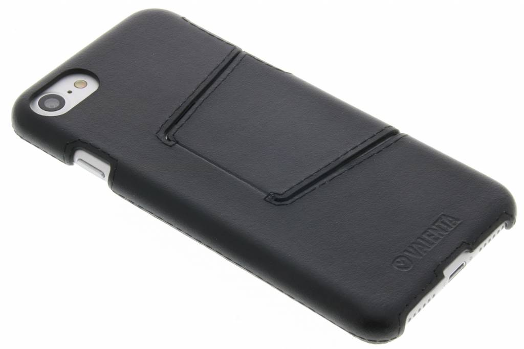 Valenta Back Cover Classic Style voor de iPhone 8 / 7 - Zwart