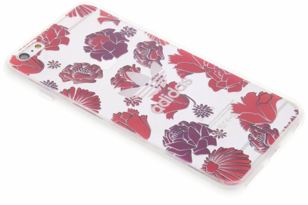 adidas Originals Originals Clear Case voor de iPhone 6(s) Plus - Bohemian Red