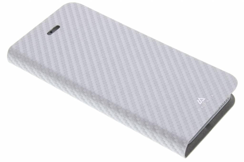 Black Rock Flex Carbon Booklet Case voor de iPhone 7 / 6s / 6 - Zilver