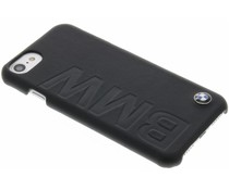 BMW Real Leather Hard Case iPhone 8 / 7 - Zwart