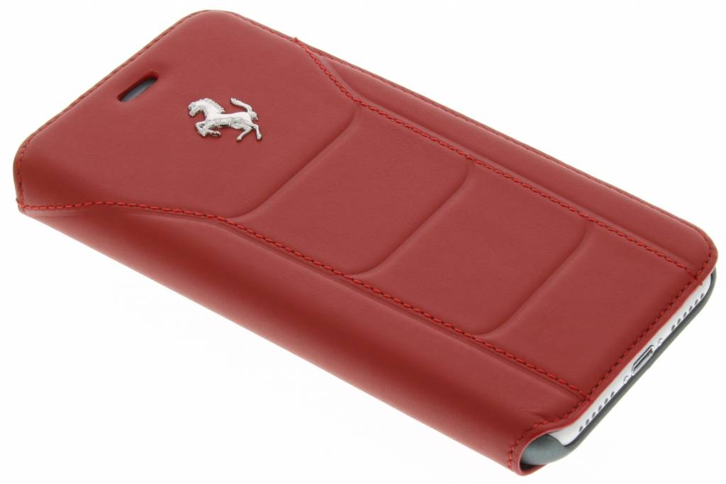 Leather Booktype Case iPhone 7 Rood