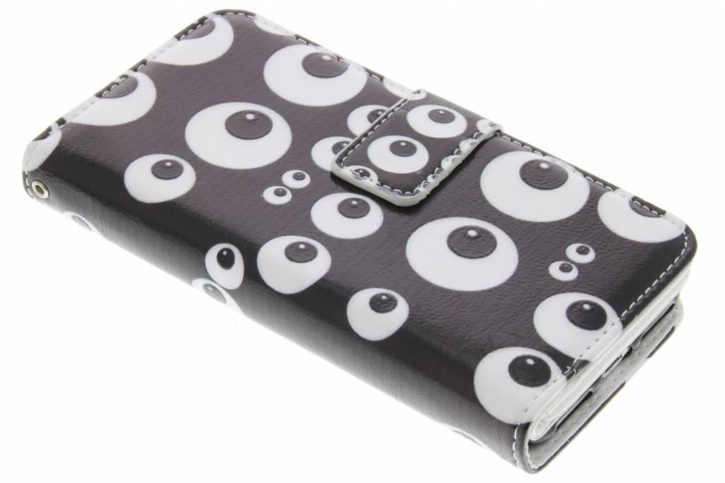 Ogen design TPU portemonnee voor de iPhone 8 / 7