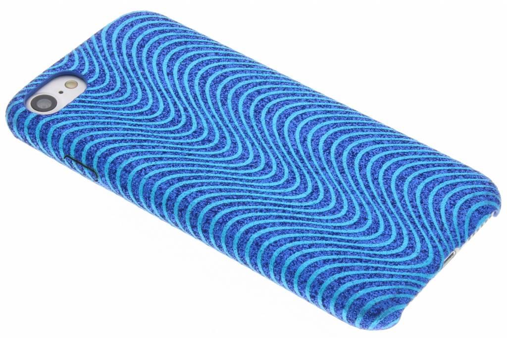 Blauwe Glitter TPU case voor de iPhone 8 / 7