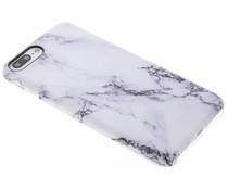 Marmer TPU hoesje iPhone 8 Plus / 7 Plus